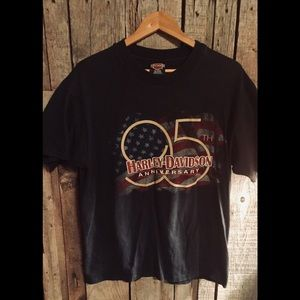 Harley Davidson 95th Anniversary T-shirt, Size Lrg